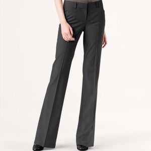 Theory Charcoal Grey Max C Pants / Slacks